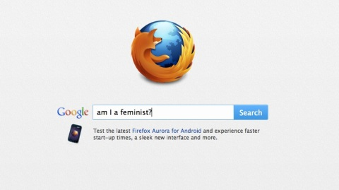 Asking Google: Am I a feminist?