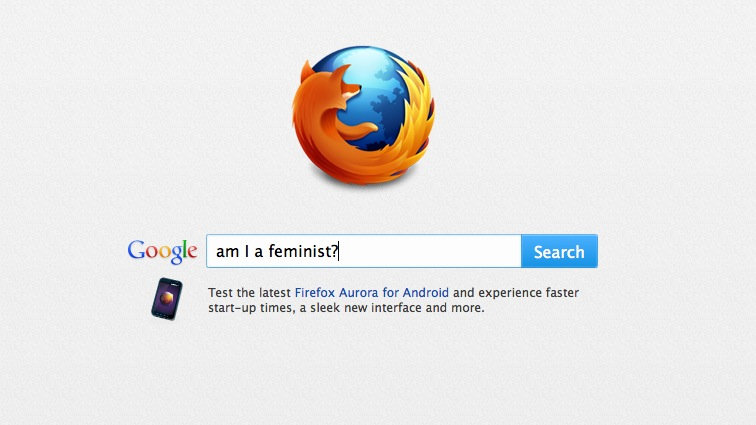 Asking Google: Am I a feminist?